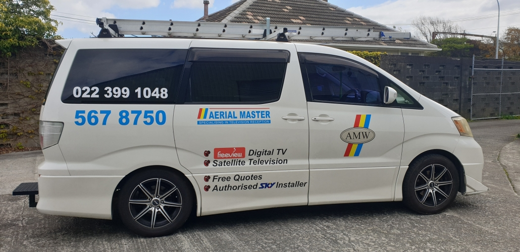 Upgrading to digital and advising on Free to Air, satellite receivers, SKY TV, MATV and SMATV. Call Aerial Master Wellington.